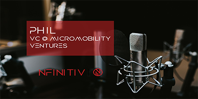 Phil – Venture Capitalist at Micromobility Ventures – Podcasts by nfinitiv