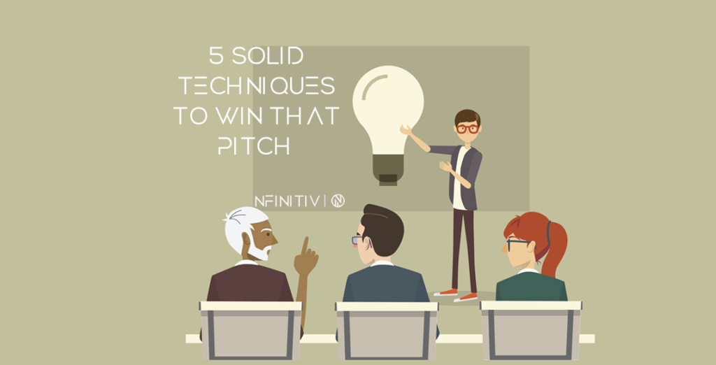 5 Solid techniques to win that pitch