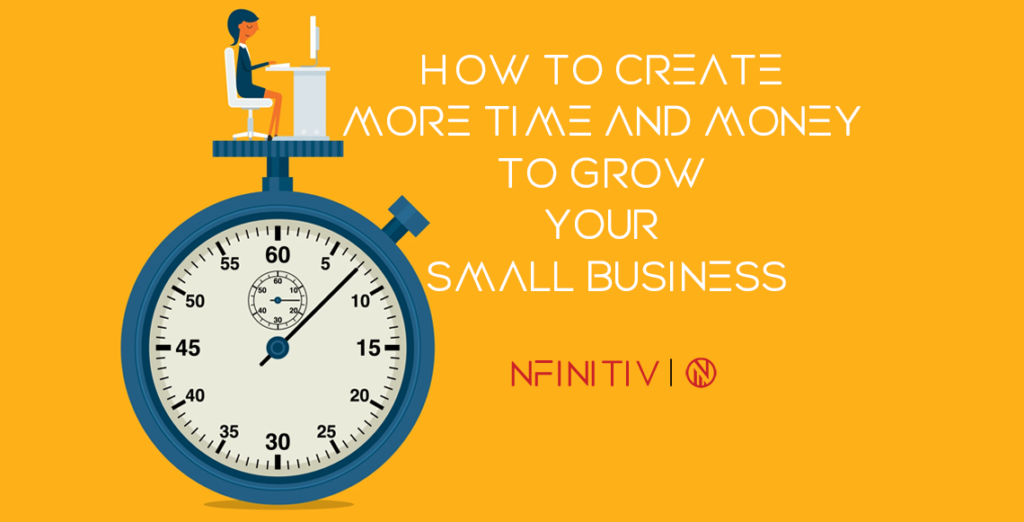 How to Create More Time and Money to Grow Your Small Business