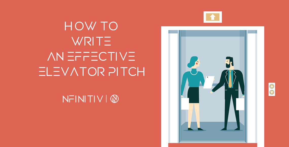 How to write an effective elevator pitch