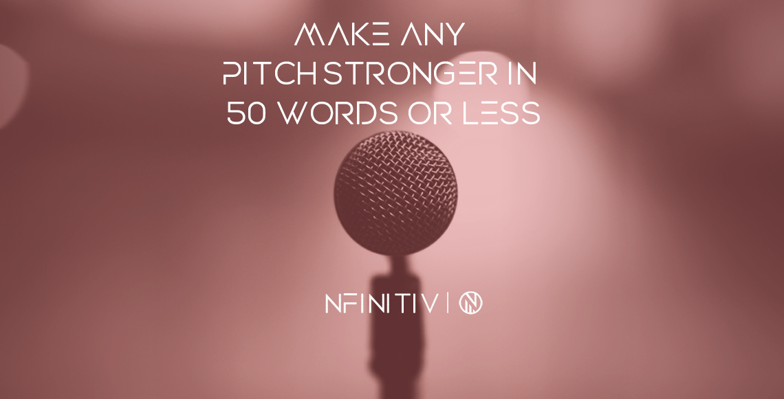 Make any pitch stronger in 50 Words or Less